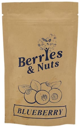 Berries & Nuts Dried Fruits - Blueberry 100 gm