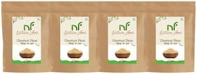 Best Quality Chestnut Flour/ Singhara Atta - 500g (Pack of 4)