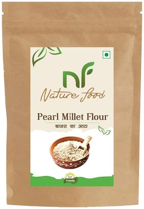 Best Quality Pearl Millet Flour/ Bajra Atta - 500g ( Pack of 1)