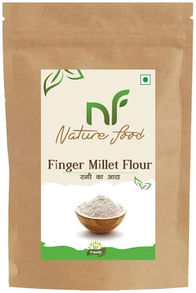 Best Quality Finger Millet Flour/ Ragi Atta - 1kg ( Pack of 1)
