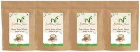 Best Quality Soyabean Flour/ Soya Atta -1kg (Pack of 4)