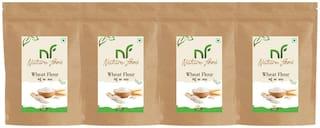 Best Quality wheat Flour/ Gehun Atta -1kg (Pack of 4)