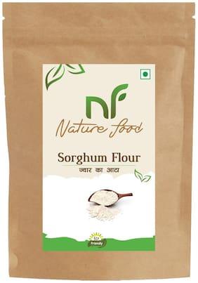 Best Quality Sorghum Flour/ Jowar Atta - 500g (Pack of 1)