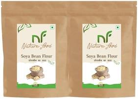 Best Quality Soyabean Flour/ Soya Atta -500g (Pack of 2)