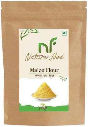 Best Quality Maize Flour/Corn Flour/ Makka Atta -500g (Pack of 1)