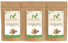 Best Quality Buckwheat Flour/ Kuttu Atta / Buck Wheat - 250g (Pack of 3)