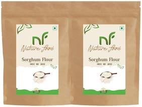 Best Quality Sorghum Flour/ Jowar Atta - 500g (Pack of 2)