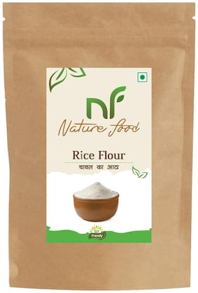 Best Quality Rice Flour/Chaval Atta -500g (Pack of 1)