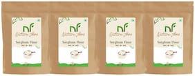 Best Quality Sorghum Flour/ Jowar Atta - 500g (Pack of 4)