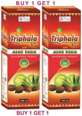 Besure Aloe Vera Triphala Fruit Juice 500 ml Pack Of 2