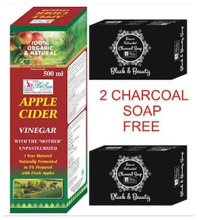 BeSure Apple Cider Vinegar-Filtered Syrup 500 ml -2 Charcoal Soap Free