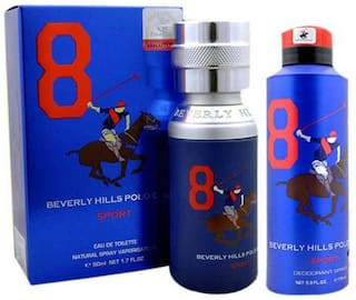 Beverly Hills Polo Club Combo Of Perfume And Deodorant