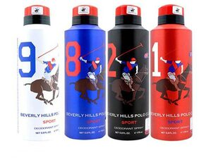 Beverly Hills Polo Club 4 Men's Deodorants