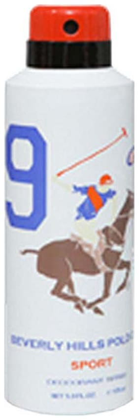 Beverly Hills Polo Club Sports Deodorant No 9 For Men 175 Ml