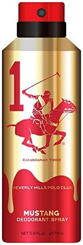 Beverly Hills Polo Club Mustang Deodrant Spray 175ml