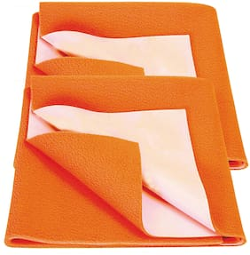 Bey Bee Bed Protector Sheet Peach (Small Pack of 2)