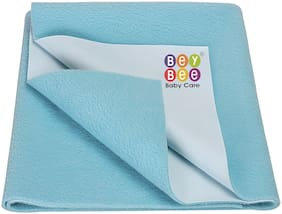 Bey Bee Quick Dry Bed Protector Waterproof Baby Care Sheet - Small (Sea Green)