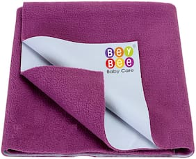 Bey Bee Waterproof Bed Protector sheet for Baby Care - Medium (Rani Pink)