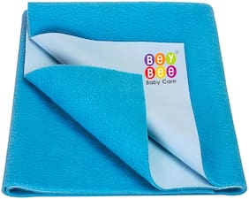 Bey Bee Waterproof Mattress Protector Dry Sheet for Kids and Adults, Royal Blue (100 cm x 70 cm)