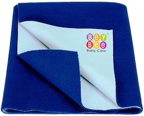 Bey Bee Waterproof Baby Bed Protector Sheet for babies & adult - Medium Size Royal Blue