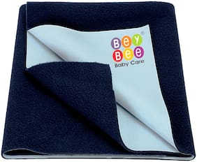 Bey Bee Waterproof Baby Bed Protector Dry Sheet for New Born Babies - Small Size (70 cm X 50 cm)