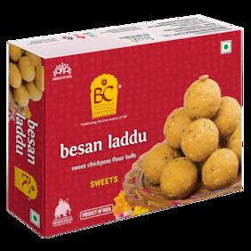 Bhikharam Chandmal Besan Laddu 500g  Pack of 1