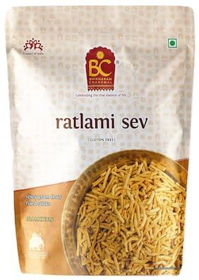 Bhikharam Chandmal Ratlami Sev 1kg  Pack of 1