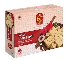 Bhikharam Chandmal Kesar Soan Papdi 200g  Pack of 1