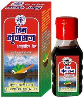 Bhimseni Karyalay Him Bhringraj Ayurvedic oil 50ml (Pack of 1)
