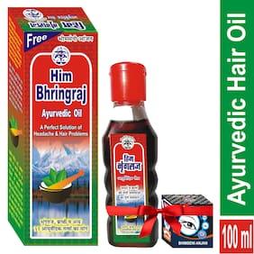 Bhimseni Karyalay Him Bhringraj Ayurvedic oil 100ml (Pack of 1)
