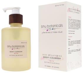 Bhu Botanicals Skin Brightening Body Cleanser, Nutmeg & Myrhh, 300ml