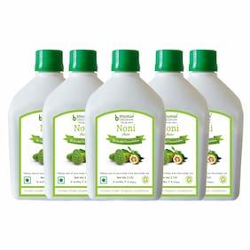 BHUMIJA LIFESCIENCES Noni Juice (Sugar Free) 1 L (Pack of 5)