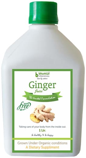BHUMIJA LIFESCIENCES Ginger Juice (Sugar Free) 1 L