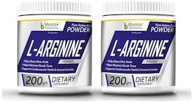 Bhumija Lifesciences L-Arginine Pre Workout (Amino Acid) Powder 200g.Pack Two