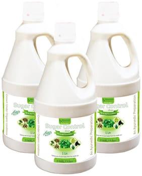 BHUMIJA LIFESCIENCES Sugar Control Juice (Sugar Free) 1 L (Pack of 3)
