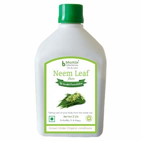 BHUMIJA LIFESCIENCES Neem Juice (Sugar Free) 1 L