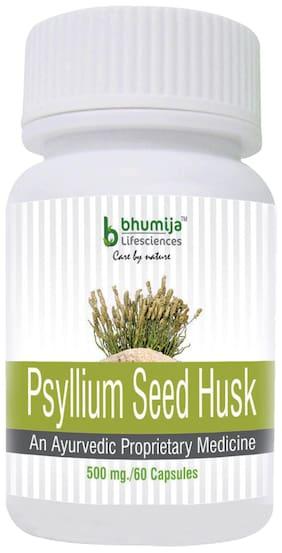Bhumija Lifesciences Psyllium Husk (Isabgol) Capsules 60's - Relief from Constipation