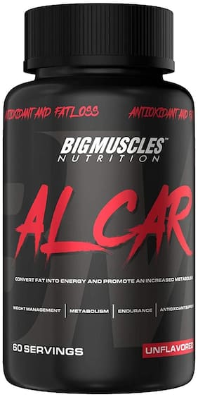 Big Muscle Nutrition Alcar 60 Servings Pre Workout 60 Tablets