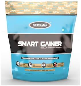 Bigmuscles Nutrition Smart Gainer 4.98 kg (11 lb) (Cookie & Cream)