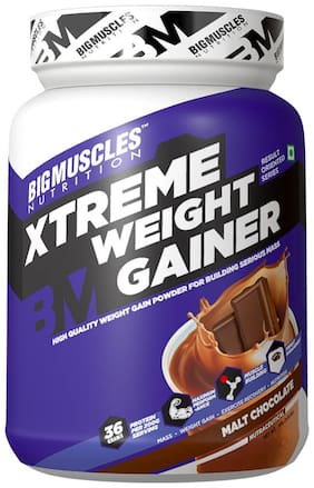 BIG MUSCLES Xtreme Weight Gainer 2.2 Lbs