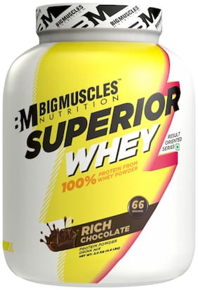 Bigmuscles NutritionSuperior Whey 2kg ( Rich Chocolate) - (Stringer Free)