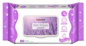 Big Basket Wet Wipes Lavender 80 pcs