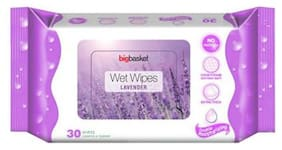 Big Basket Wet Wipes Lavender 30 pcs