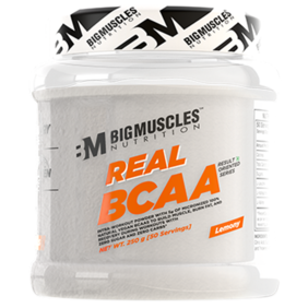 BIGMUSCLES NUTRITION Real BCAA Lemony 50 Serving (250 gm)