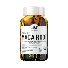 Bigmuscles Nutrition Organic Maca Root ( 800mg) Pack of 1 (1x100 Tablets)