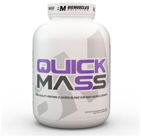Bigmuscles Nutrition Quick Mass 6 lb (Cookie & Cream)