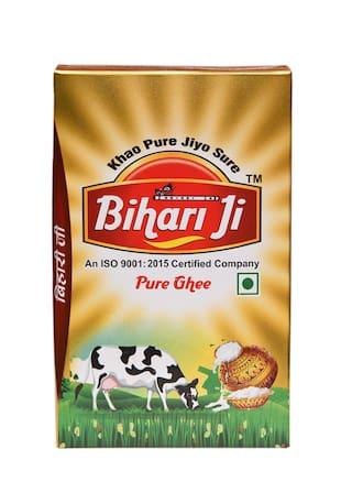 Bihari Ji Desi Ghee 1 L Tetra pack