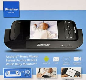 Binatone Blink Buddy Home Parent Viewer Unit  BLINK1 Wf-Fi Baby Monitor.