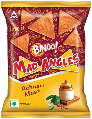 Bingo Mad Angles - Achaari Masti 80 gm