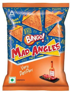 Bingo Namkeen - Mad Angles  Very Peri Peri 40 g